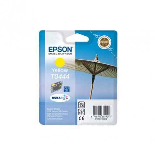 EPSON T0444 / COLORAMARILLO / CARTUCHO DE TINTA ORIGINAL / C13T04444010