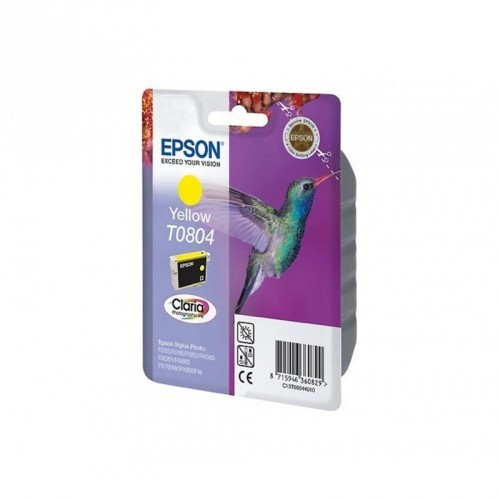 EPSON T0804 / COLORAMARILLO / CARTUCHO DE TINTA ORIGINAL / C13T08044011