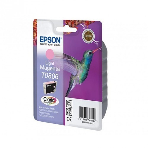 EPSON T0806 / COLOR MAGENTA LIGHT CARTUCHO DE TINTA ORIGINAL / C13T08064011