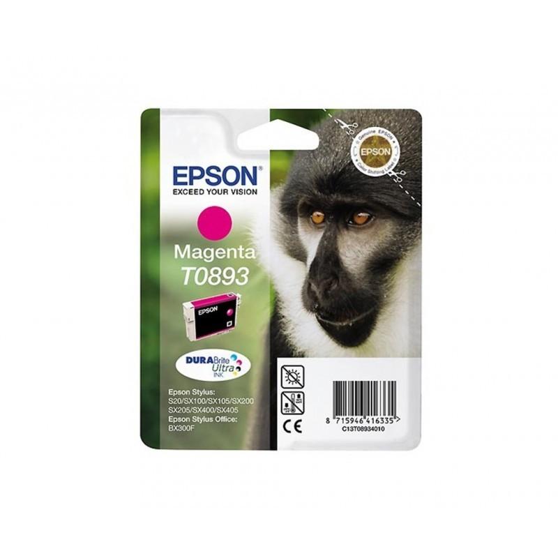 EPSON T0893 / COLOR MAGENTA / CARTUCHO DE TINTA ORIGINAL / C13T08934011