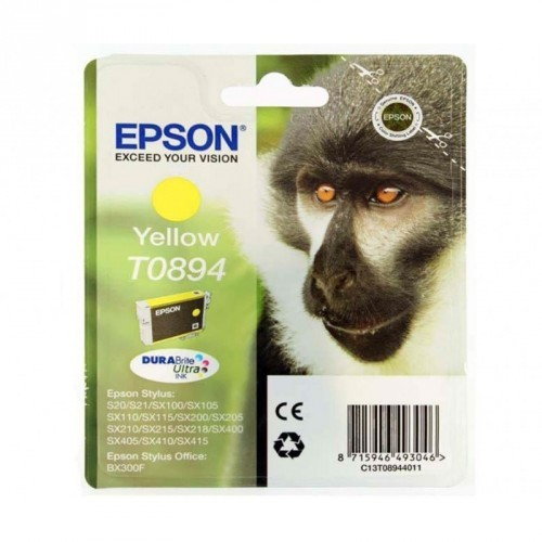 EPSON T0894 / COLORAMARILLO / CARTUCHO DE TINTA ORIGINAL / C13T08944011