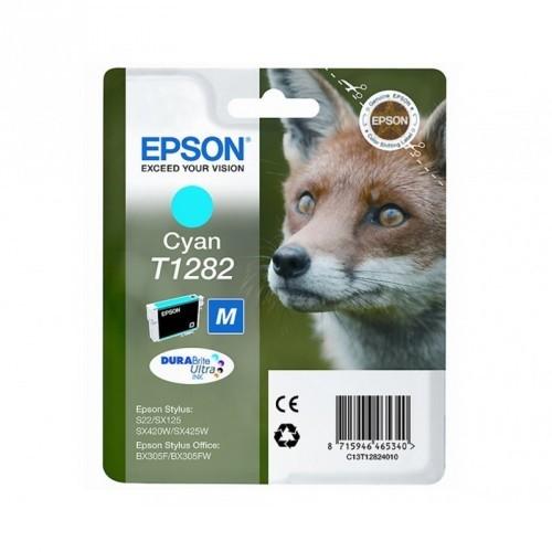EPSON T1282 / COLOR CYAN / CARTUCHO DE TINTA ORIGINAL / C13T12824010