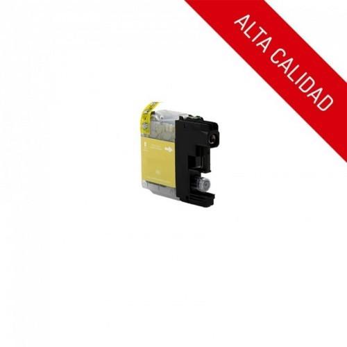ALTA CALIDAD / BROTHER LC125XL / COLOR AMARILLO / CARTUCHO DE TINTA COMPATIBLE