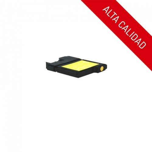 ALTA CALIDAD / BROTHER LC985 / COLOR AMARILLO / CARTUCHO DE TINTA COMPATIBLE