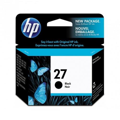 HP 27 / COLOR NEGRO / CARTUCHO DE TINTA ORIGINAL / C8727AE