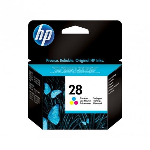 HP 28 / COLOR TRICOLOR / CARTUCHO DE TINTA ORIGINAL / C8728AE