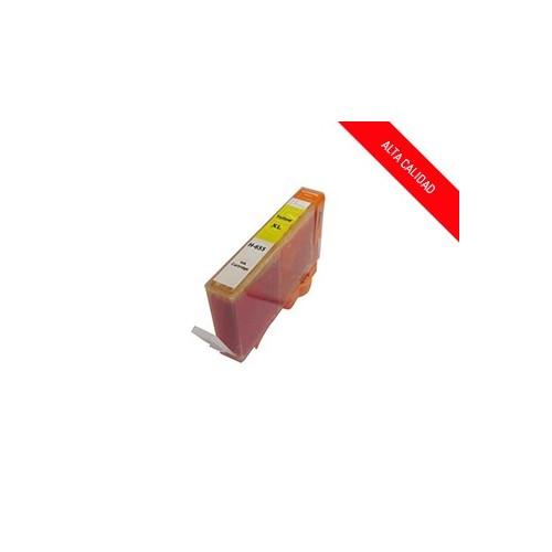ALTA CALIDAD / HP 655 / COLOR AMARILLO / CARTUCHO DE TINTA COMPATIBLE / CZ112AE