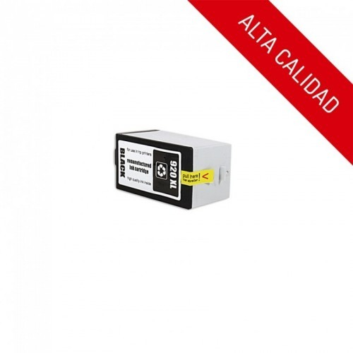 ALTA CALIDAD / HP 920XL / COLOR NEGRO / CARTUCHO DE TINTA COMPATIBLE / CD975AE