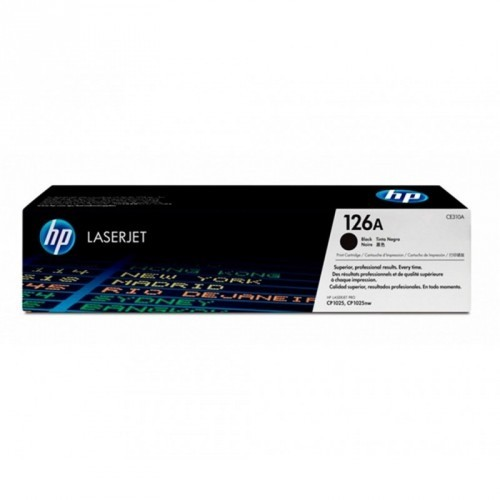HP CE310A / COLOR NEGRO / TÓNER ORIGINAL / 126A