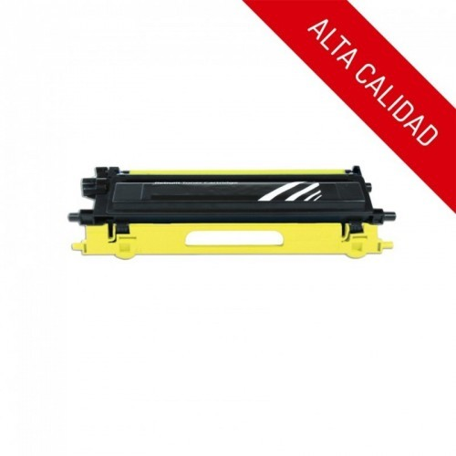 ALTA CALIDAD / BROTHER TN130 / TN135 / COLOR AMARILLO / TÓNER COMPATIBLE
