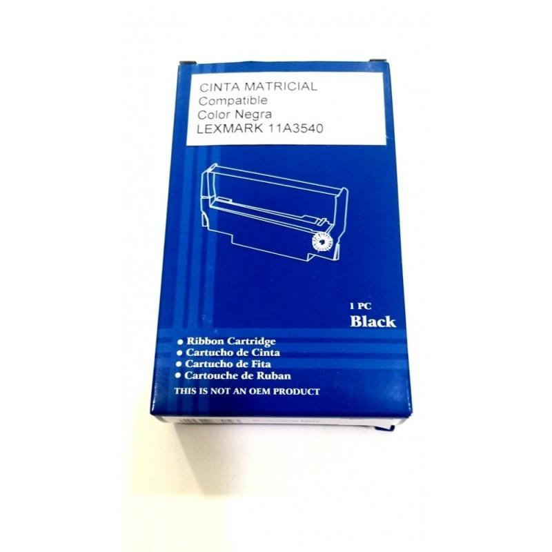 LEXMARK 11A3540 / COLOR NEGRA / CINTA MATRICIAL COMPATIBLE / (3070166)