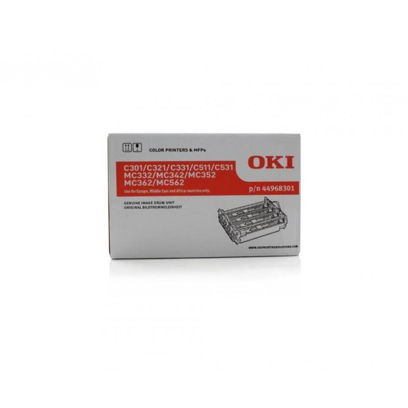OKI C301 / C511 / MC352 / MC362 / UNIDAD DE IMAGEN ORIGINAL 44968301 / DRUM