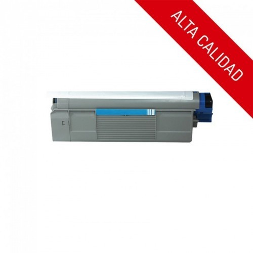 ALTA CALIDAD / OKI C5600 / C5700 / COLOR CYAN / TÓNER COMPATIBLE / 43381907