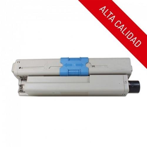 ALTA CALIDAD / OKI C310 / C510 / MC351 / MC361 / COLOR NEGRO / TÓNER COMPATIBLE / 44469803