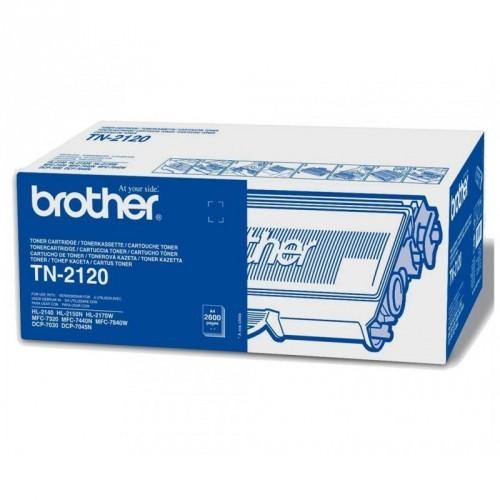 BROTHER TN2120 / COLOR NEGRO / TÓNER ORIGINAL