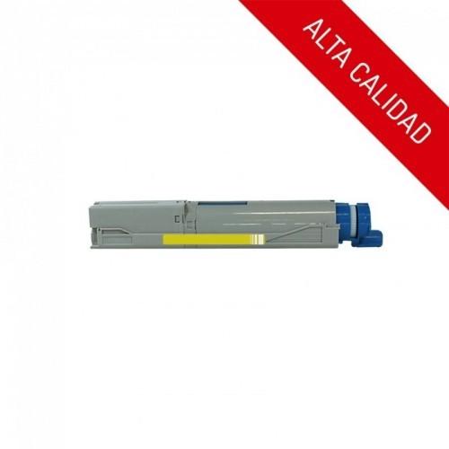 ALTA CALIDAD / OKI C3300 / C3400 / C3450 / C3520 / C3530 / C3600 / MC350 / MC360 / COLOR AMARILLO / TÓNER COMPATIBLE / UNIVERSAL