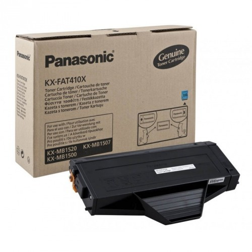 PANASONIC KX-FAT410X / COLOR NEGRO / TÓNER ORIGINAL