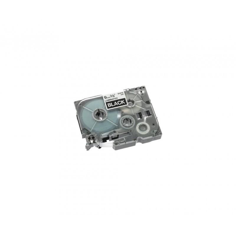 BROTHER TZE-325 9mm BLANCO / COLOR NEGRO CINTA ROTULADORA COMPATIBLE / TZ-325