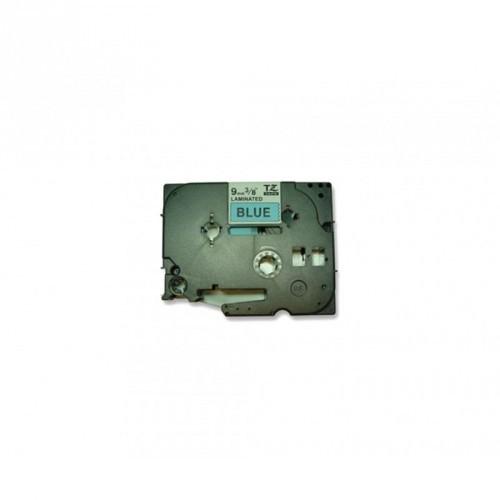 BROTHER TZE-521 9mm / COLOR NEGRO / COLOR AZUL / CINTA ROTULADORA COMPATIBLE / TZ-521