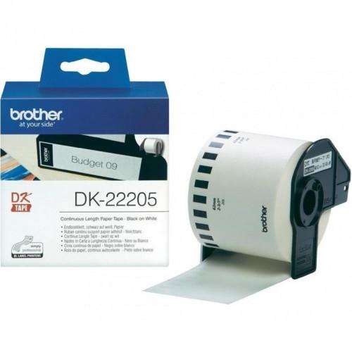 BROTHER DK22205 / BLANCA / CINTA CONTINUA DE PAPEL TERMICO ORIGINAL / DK-22205