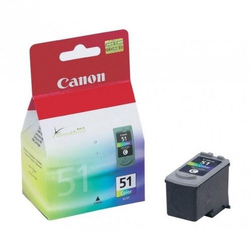 CANON CL51 / COLOR TRICOLOR / CARTUCHO DE TINTA ORIGINAL / 0618B001