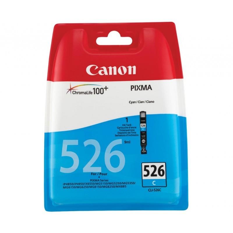 CANON CLI526 / COLOR CYAN / CARTUCHO DE TINTA ORIGINAL / 4541B001