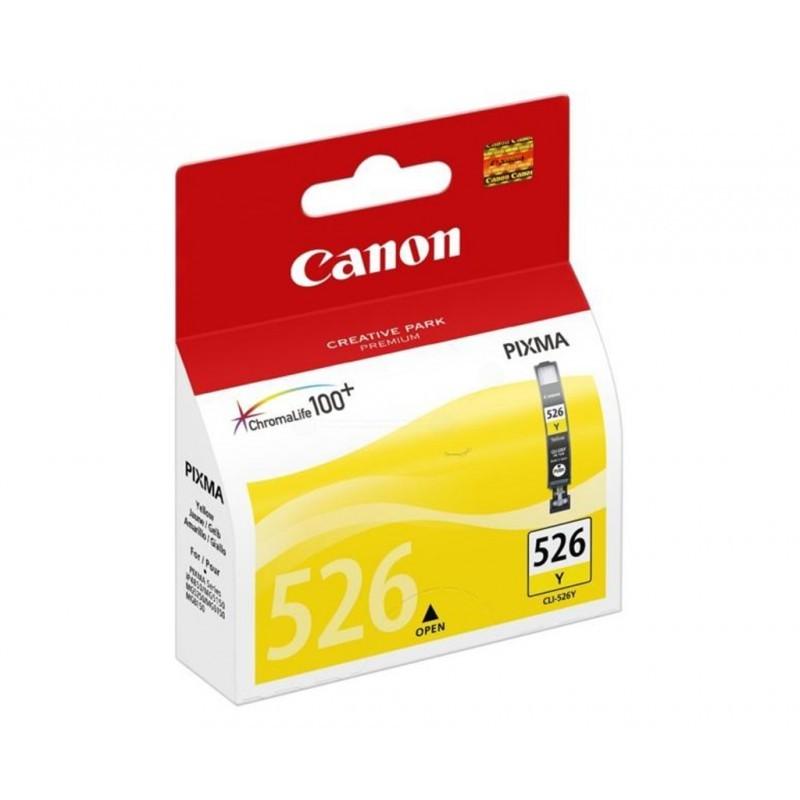 CANON CLI526 / COLORAMARILLO / CARTUCHO DE TINTA ORIGINAL / 4543B001
