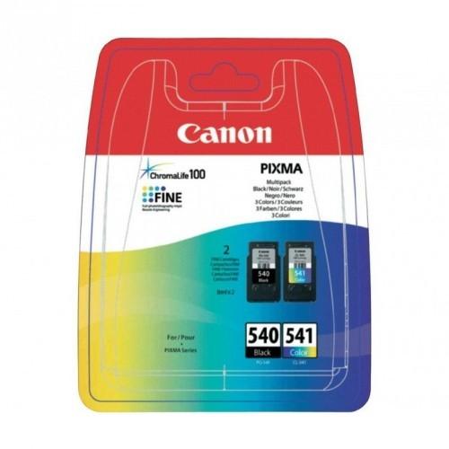 CANON PG540 / COLOR NEGRO + CL541 / COLOR TRICOLOR / MULTIPACK ORIGINAL / 5225B006