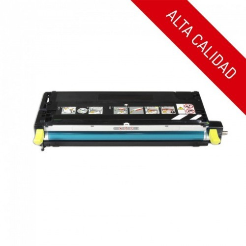 ALTA CALIDAD / XEROX PHASER 6180 / COLOR AMARILLO / TÓNER COMPATIBLE / 113R00725