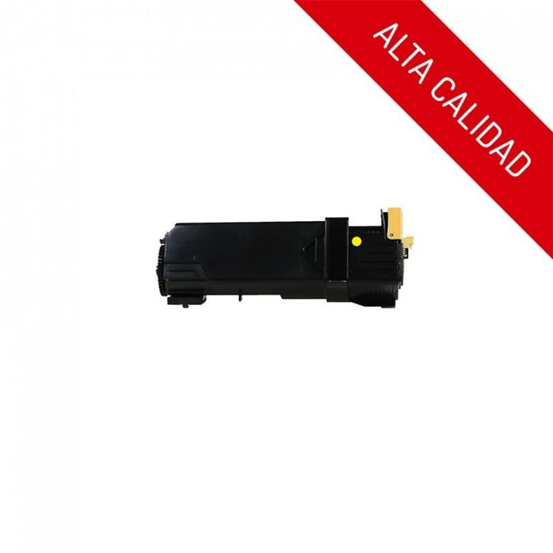 ALTA CALIDAD / XEROX PHASER 6500 / COLOR AMARILLO / TÓNER COMPATIBLE / 106R01596