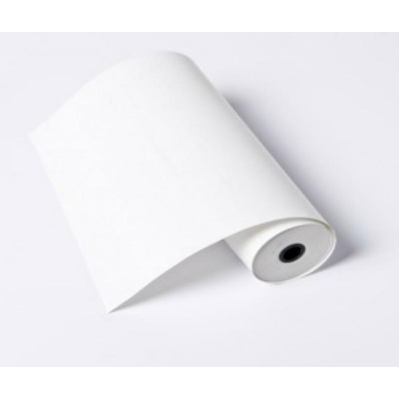 Rollo de Papel Térmico / para Fax / 210 X 30 X 12 mm / Color Blanco / 56 gramos