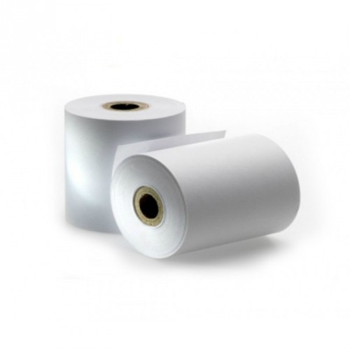 Rollo de Papel Térmico / 57 X 55 mm / Color Blanco / 56 gramos / 10 Rollos