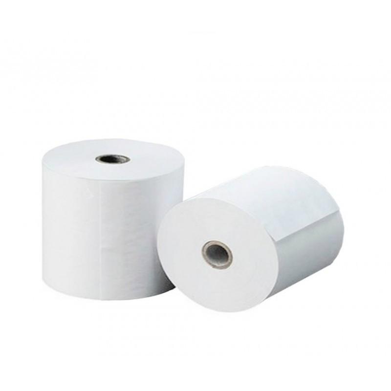 Rollo de Papel / Offset / Electra / 74 X 65 mm / Color Blanco / 60 Gramos / 10 Rollos