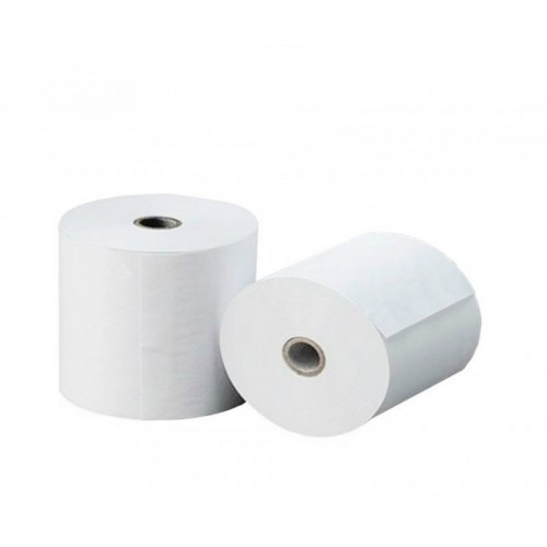 Rollo de Papel / Offset / Electra / 75 X 65 mm / 60 gramos / Color Blanco / 10 Rollos