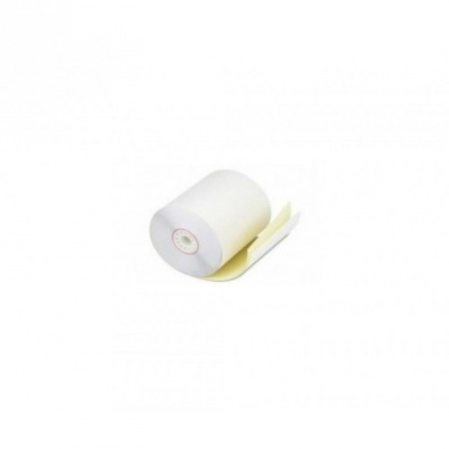 Rollo de Papel Autocopia / 75 X 65 mm / Color Blanco / 56-57 gramos / 10 Rollos