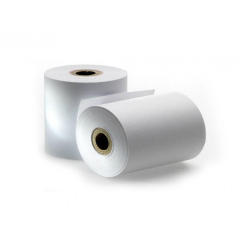 Rollo de Papel Térmico / 80 X 55 mm / Color Blanco / 56 gramos / 8 Rollos