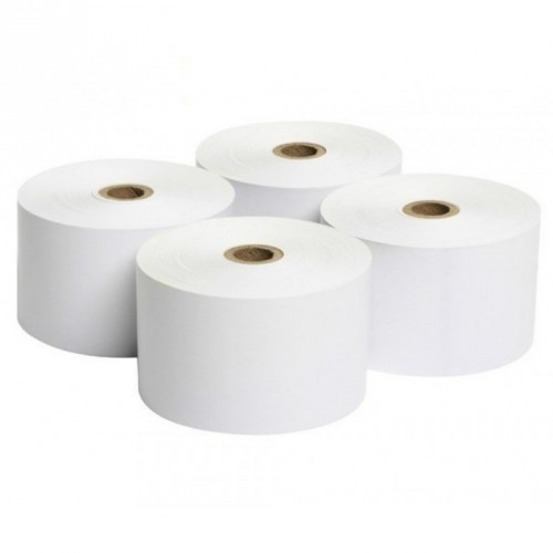 Rollo de Papel Térmico / 80 X 65 mm / Color Blanco / 56 gramos / 8 Rollos