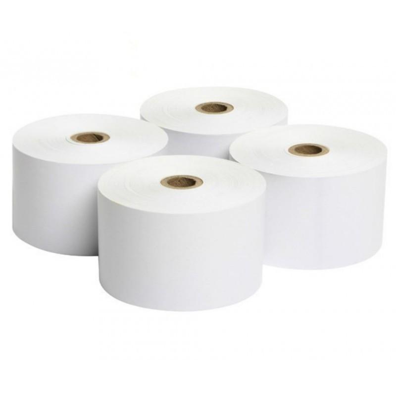 Rollo de Papel Térmico / 80 X 65 mm / Color Blanco / 56 gramos / 8 Rollos