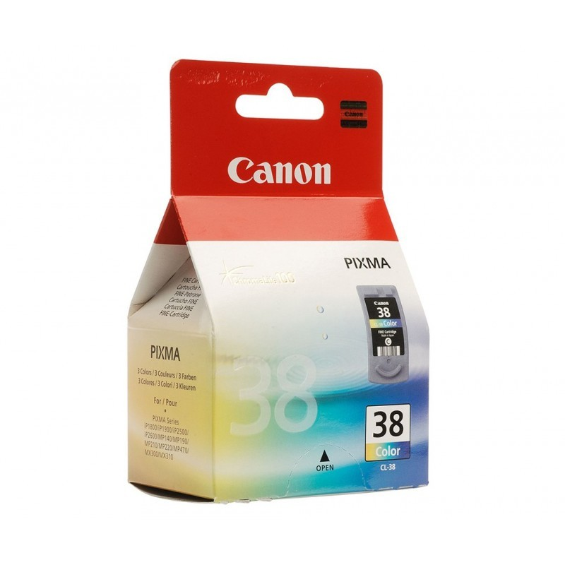 CANON CL38 / COLOR TRICOLOR / CARTUCHO DE TINTA ORIGINAL / 2146B001