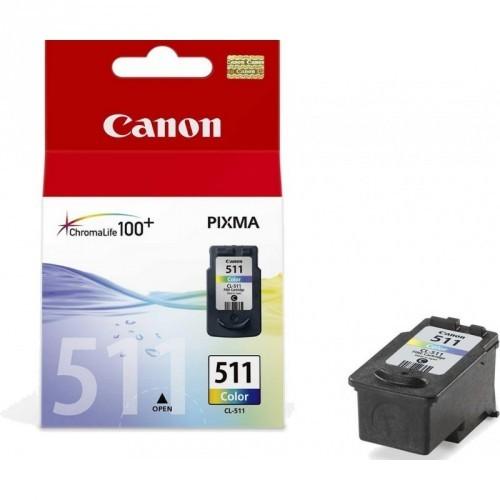 CANON CL511 / COLOR TRICOLOR / CARTUCHO DE TINTA ORIGINAL / 2972B001