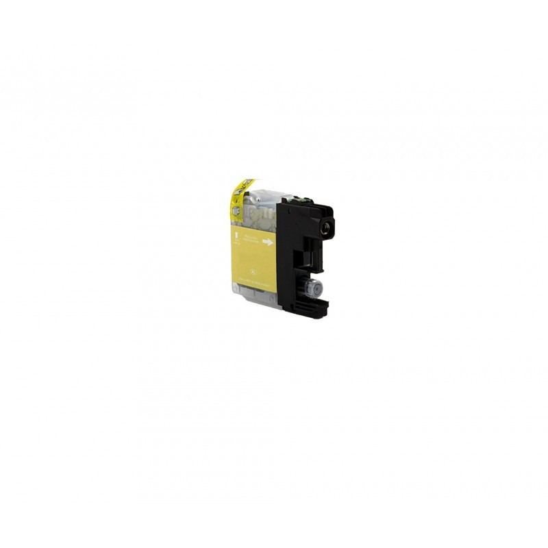 BROTHER LC700 / COLOR AMARILLO / CARTUCHO DE TINTA COMPATIBLE