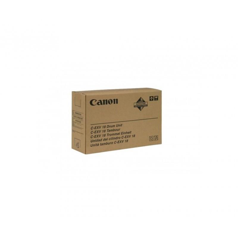 CANON C-EXV18 / COLOR NEGRO / UNIDAD DE IMAGEN ORIGINAL 0388B002 / DRUM