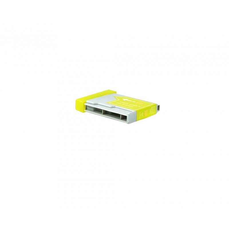 BROTHER LC1000XL / LC970XL / COLOR AMARILLO / CARTUCHO DE TINTA COMPATIBLE