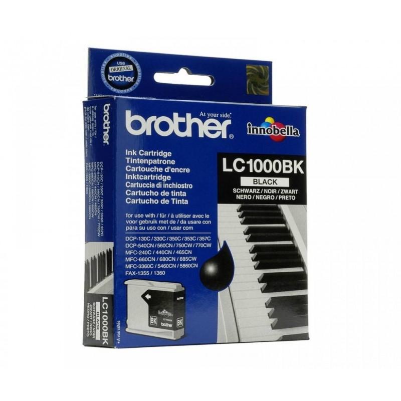 BROTHER LC1000 / COLOR NEGRO / CARTUCHO DE TINTA ORIGINAL