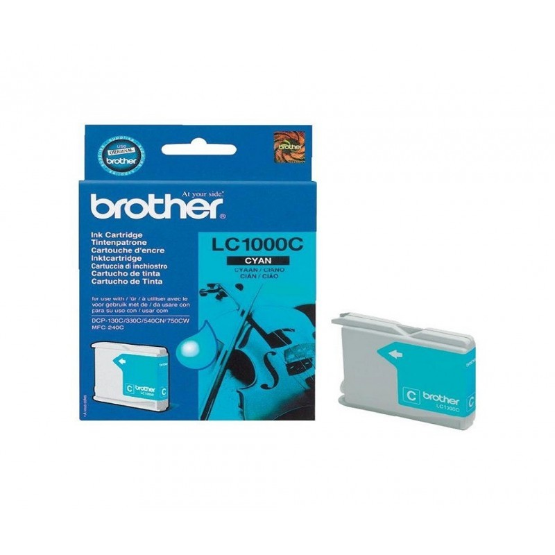 BROTHER LC1000 / COLOR CYAN / CARTUCHO DE TINTA ORIGINAL