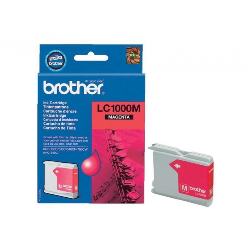 BROTHER LC1000 / COLOR MAGENTA / CARTUCHO DE TINTA ORIGINAL