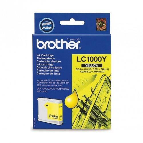 BROTHER LC1000 / COLORAMARILLO / CARTUCHO DE TINTA ORIGINAL