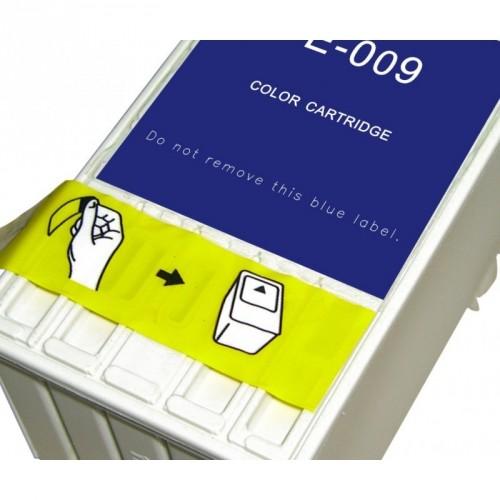EPSON T009 5 COLORES CARTUCHO DE TINTA COMPATIBLE / C13T00940110