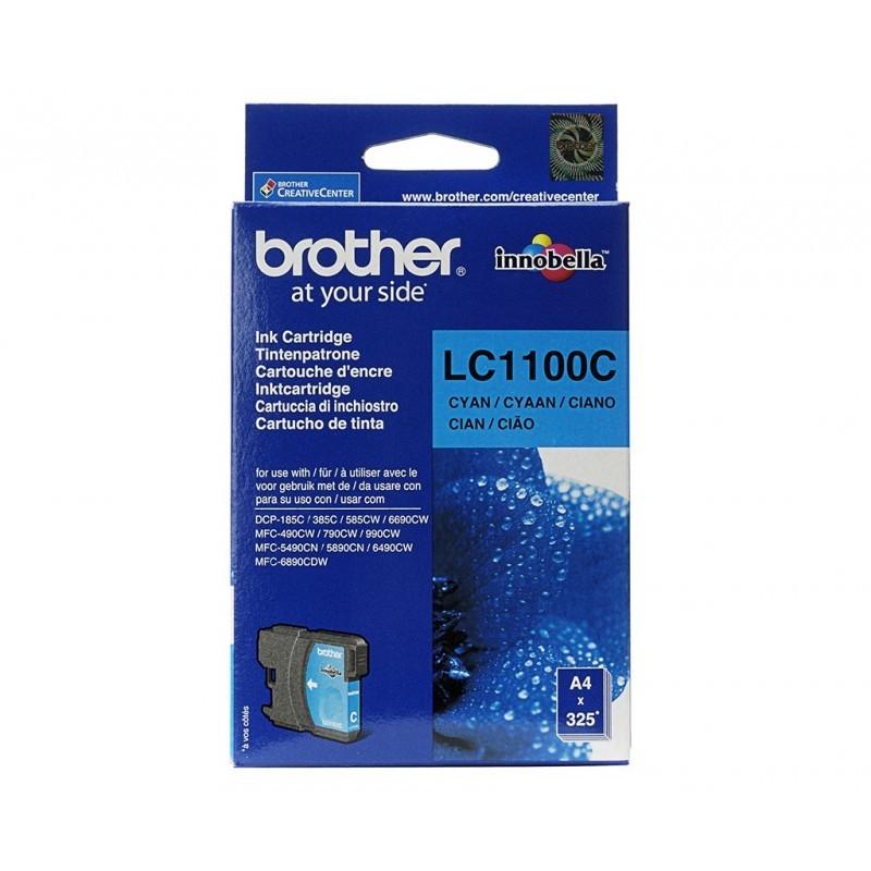 BROTHER LC1100 / COLOR CYAN / CARTUCHO DE TINTA ORIGINAL