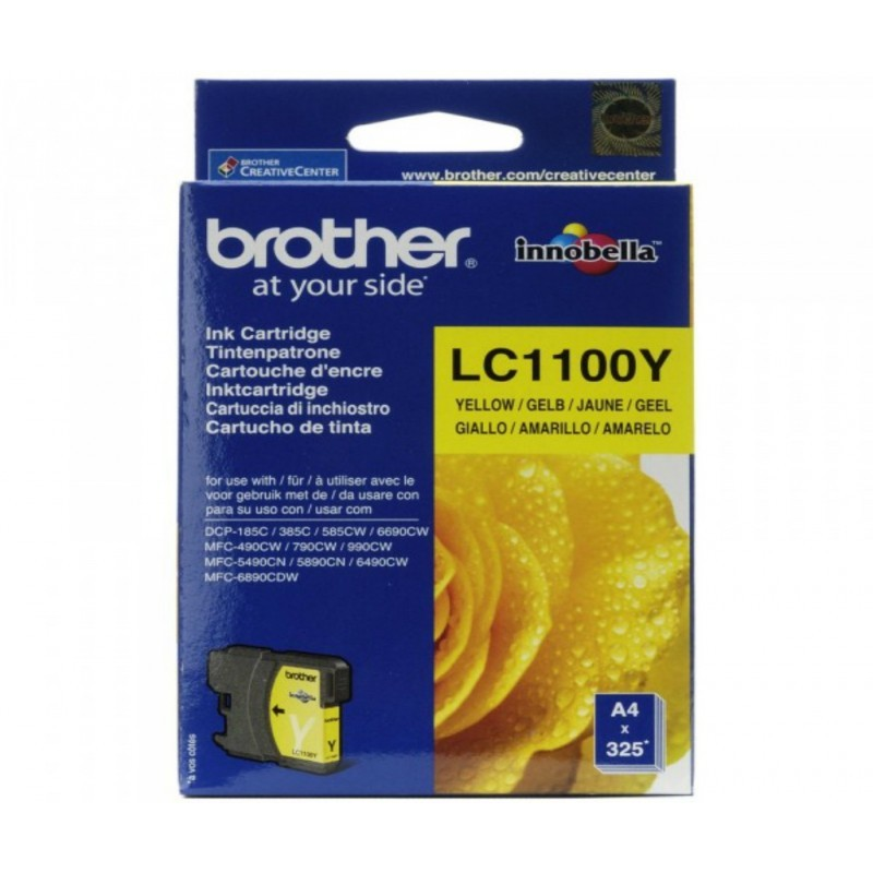 BROTHER LC1100 / COLORAMARILLO / CARTUCHO DE TINTA ORIGINAL